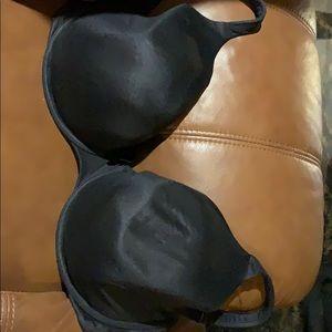 Black Cacique bra 38H